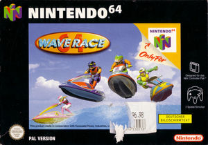 Cover for Wave Race 64.