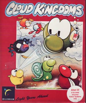 Cover for Cloud Kingdoms.