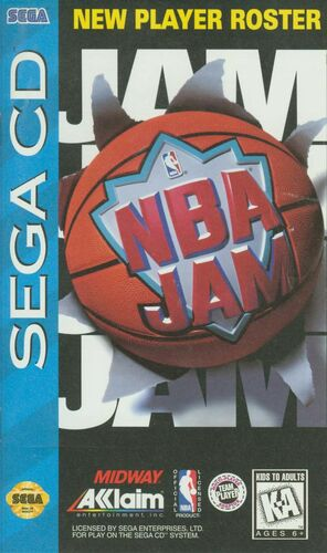 Cover for NBA Jam.
