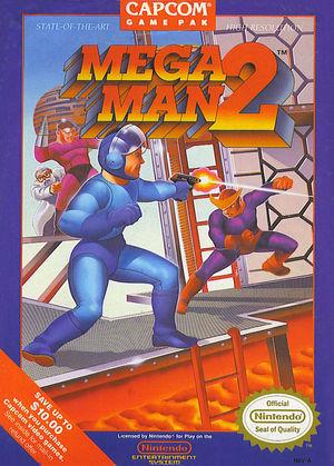 Cover for Mega Man 2.