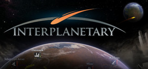 Cover for Interplanetary.