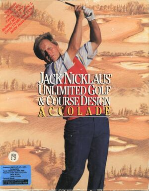 Cover for Jack Nicklaus' Unlimited Golf & Course Design.