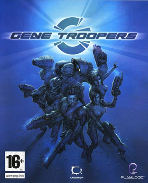 Cover for Gene Troopers.