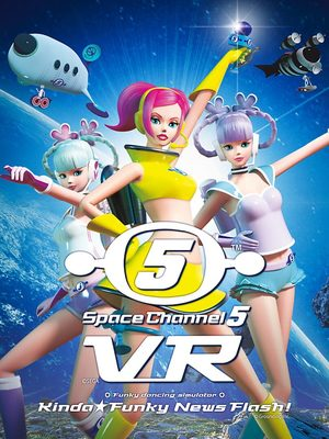 Cover for Space Channel 5 VR: Kinda Funky News Flash!.