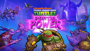 Cover for Teenage Mutant Ninja Turtles: Portal Power.