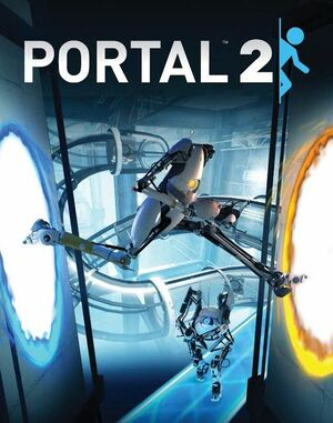 Cover for Portal 2.