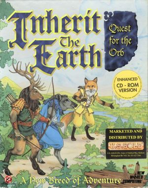 Cover for Inherit the Earth: Quest for the Orb.