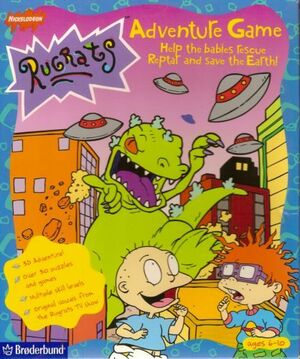 Cover for Rugrats Adventure Game.