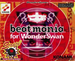 Cover for Beatmania for WonderSwan.