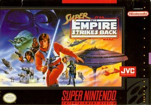 Cover for Super Star Wars: The Empire Strikes Back.