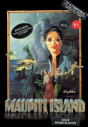 Cover for Maupiti Island.