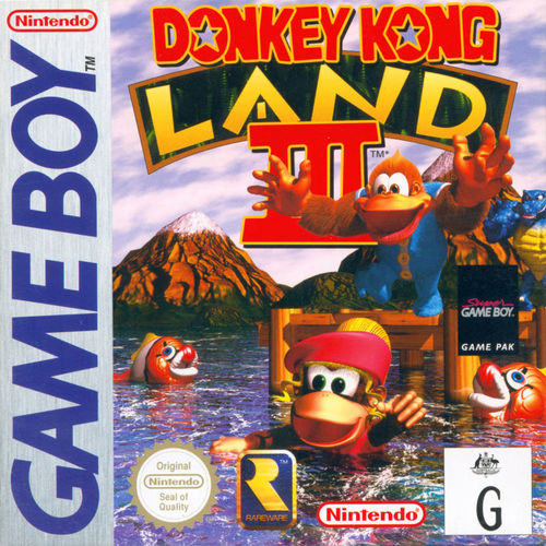 Cover for Donkey Kong Land III.