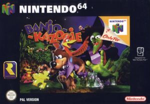 Cover for Banjo-Kazooie.