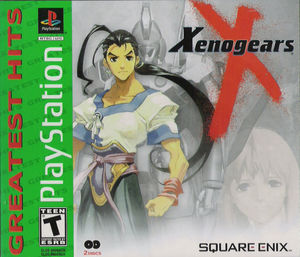 Cover for Xenogears.