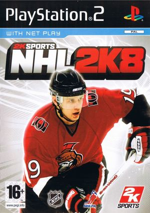 Cover for NHL 2K8.