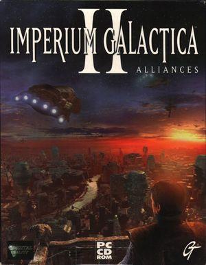 Cover for Imperium Galactica II: Alliances.