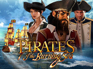 Cover for Pirates of the Burning Sea.