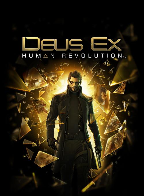 Cover for Deus Ex: Human Revolution.
