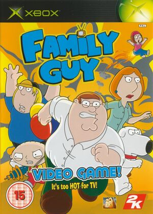 Cover for Family Guy Video Game!.