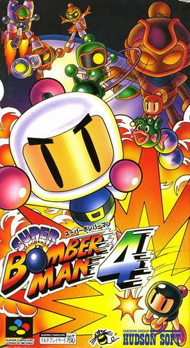 Cover for Super Bomberman 4.