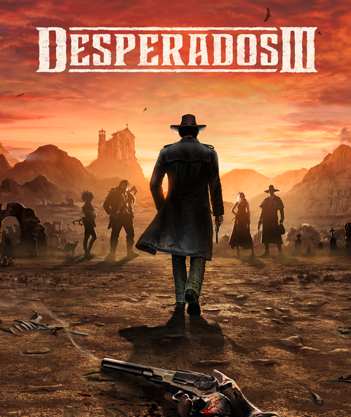 Cover for Desperados III.