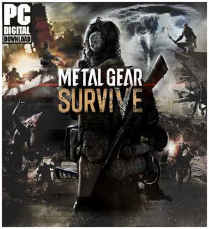 Cover for Metal Gear Survive.