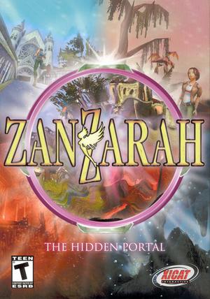 Cover for ZanZarah: The Hidden Portal.