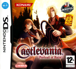 Cover for Castlevania: Portrait of Ruin.