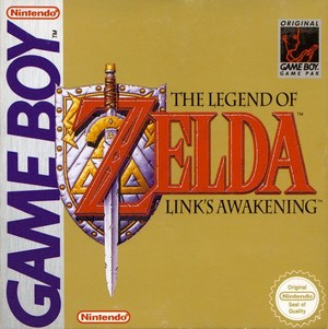 Cover for The Legend of Zelda: Link's Awakening.