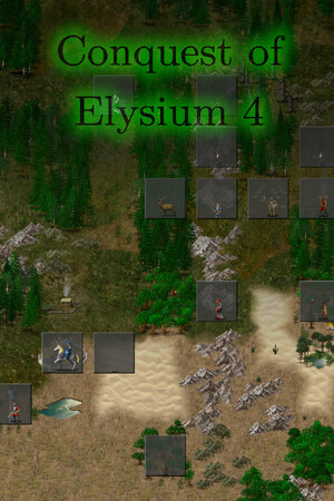 Cover for Conquest of Elysium 4.