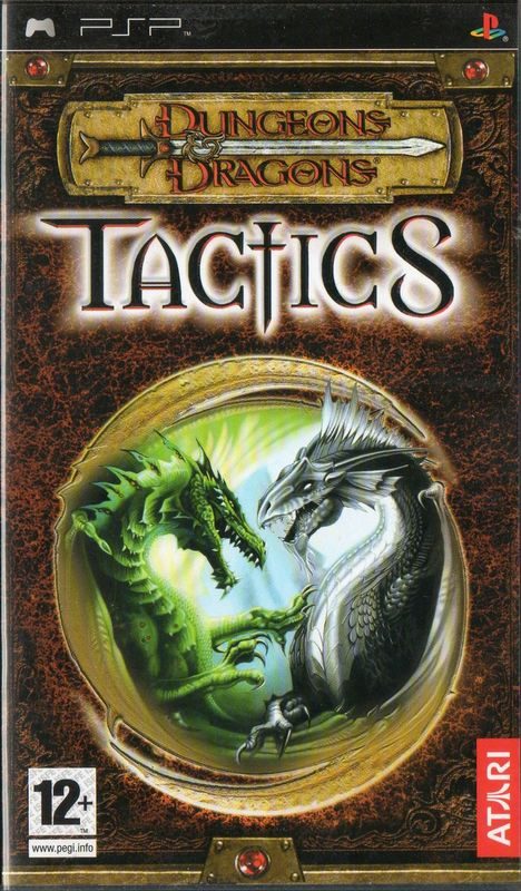 Cover for Dungeons & Dragons Tactics.