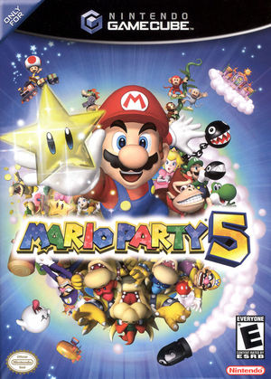 Cover for Mario Party 5.