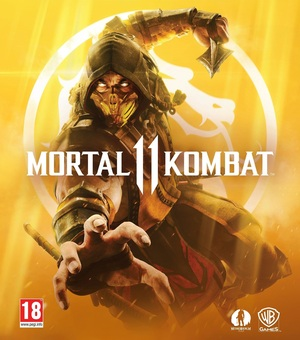 Cover for Mortal Kombat 11.