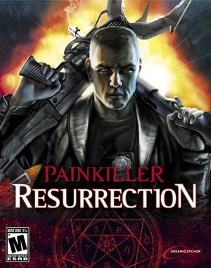 Cover for Painkiller: Resurrection.