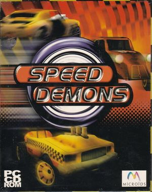 Cover for Speed Demons.