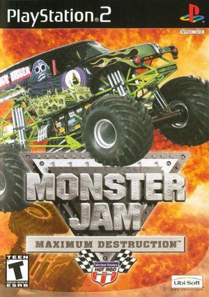 Cover for Monster Jam: Maximum Destruction.