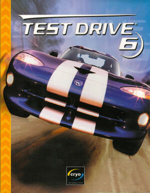 Cover for Test Drive 6.