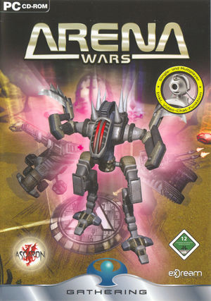 Cover for Arena Wars.