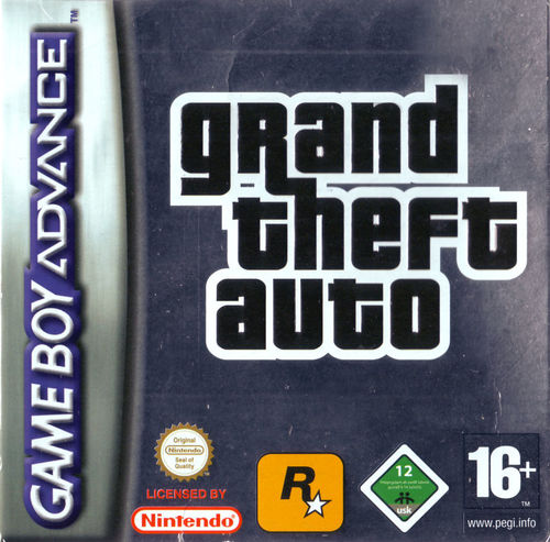 Cover for Grand Theft Auto Advance.