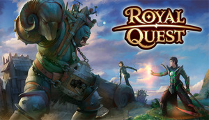 Cover for Royal Quest.