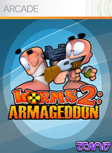 Cover for Worms 2: Armageddon.