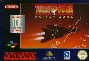 Cover for Turn and Burn: No-Fly Zone.