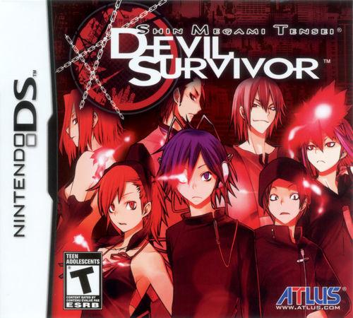Cover for Shin Megami Tensei: Devil Survivor.