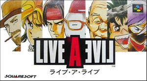Cover for Live A Live.