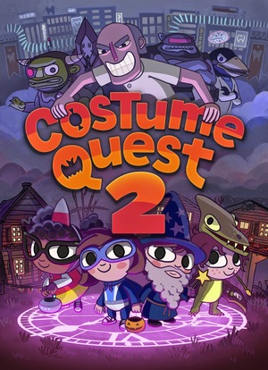 Cover for Costume Quest 2.
