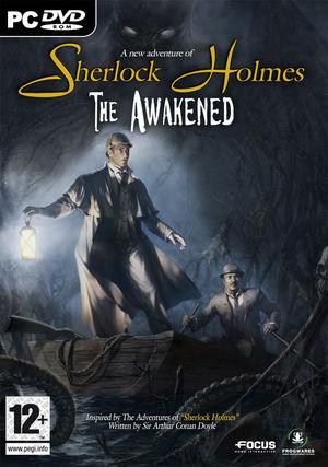 Cover for Sherlock Holmes: The Awakened.