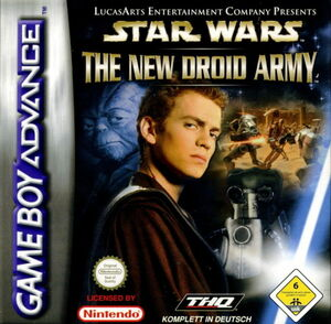 Cover for Star Wars: The New Droid Army.