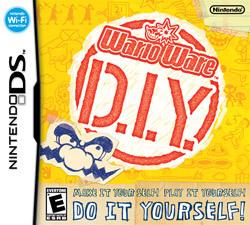 Cover for WarioWare DIY.