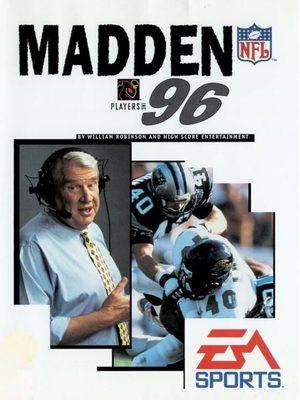 Cover for Madden NFL '96.
