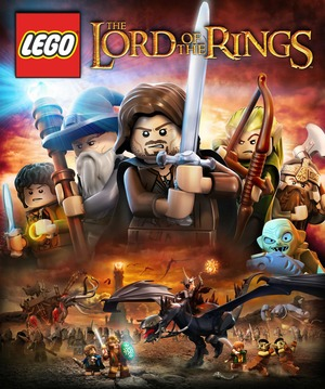 Cover for Lego The Lord of the Rings.